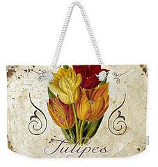 Le Jardin Tulipes Weekender Tote Bag by Mindy Sommers