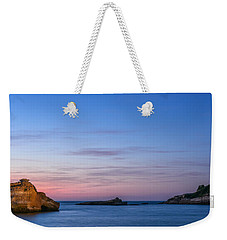 Weekender Tote Bag featuring the photograph Le Phare De Biarritz by Thierry Bouriat