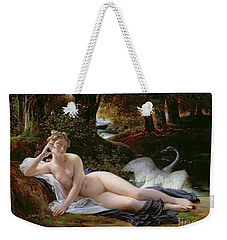 Leda And The Swan Weekender Tote Bag by Francois Edouard Picot