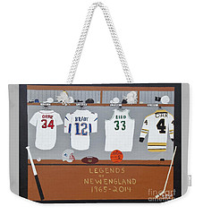 Legends Of New England Weekender Tote Bag by Dennis ONeil