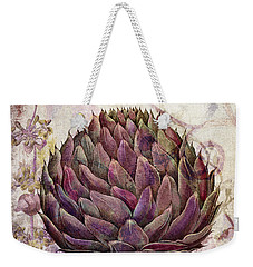 Legumes Francais Artichoke Weekender Tote Bag by Mindy Sommers