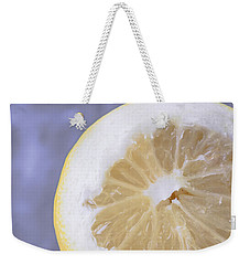 Lemon Half Weekender Tote Bag by Edward Fielding