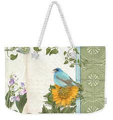 Les Magnifiques Fleurs Iv - Secret Garden Weekender Tote Bag by Audrey Jeanne Roberts