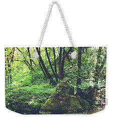 Let It Go Weekender Tote Bag by Laurie Search
