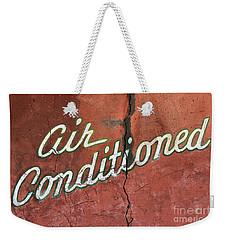 Let The Cool Air In Weekender Tote Bag by Phyllis Webster