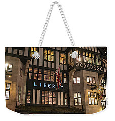 Liberty Of London Out Front Night Weekender Tote Bag by Mike Reid