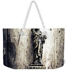 Little Lady Of Vintage Usa Weekender Tote Bag by Jorgo Photography - Wall Art Gallery