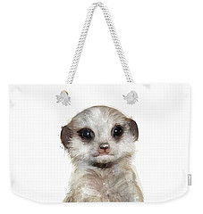 Little Meerkat Weekender Tote Bag by Amy Hamilton
