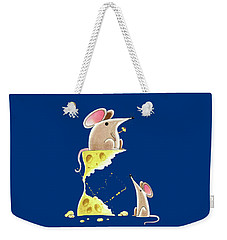 Living Dangerously  Weekender Tote Bag by Andrew Hitchen