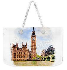 London Calling Weekender Tote Bag by Marian Voicu