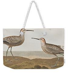 Long-legged Sandpiper Weekender Tote Bag by John James Audubon