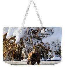 Lookout Above Weekender Tote Bag by Mike Dawson