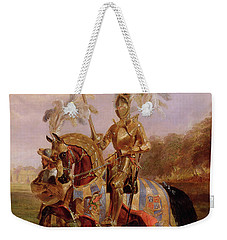 Lord Of The Tournament Weekender Tote Bag by Edward Henry Corbould