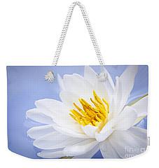 Lotus Flower Weekender Tote Bag by Elena Elisseeva