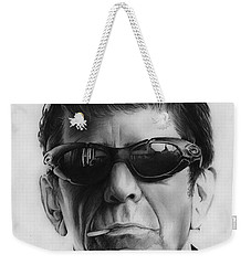 Lou Reed Weekender Tote Bag by Greg Joens