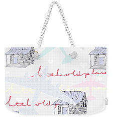 Love Shack Weekender Tote Bag by Beth Travers