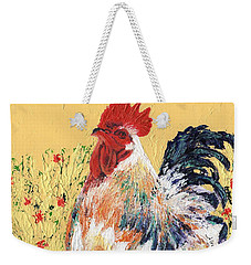 Mad Max With Poppies Weekender Tote Bag by Laura Gabel