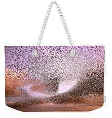 Magic In The Air - Starling Murmurations Weekender Tote Bag by Roeselien Raimond