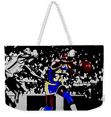 Magic Johnson Bounce Pass Weekender Tote Bag by Brian Reaves