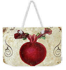 Mangia Radish Weekender Tote Bag by Mindy Sommers