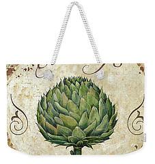 Mangia Artichoke Weekender Tote Bag by Mindy Sommers