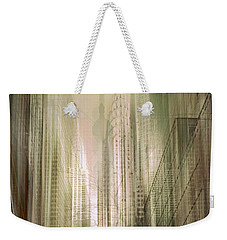Manhattan Mayhem Weekender Tote Bag by Jessica Jenney