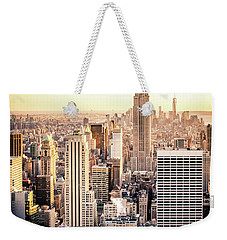 Manhattan Weekender Tote Bag by Michael Weber