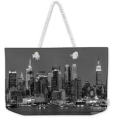 Manhattan Twilight Iv Weekender Tote Bag by Clarence Holmes