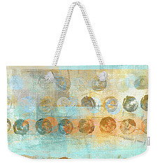 Marbles Found Number 3 Weekender Tote Bag by Carol Leigh