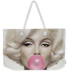 Marilyn Monroe Weekender Tote Bag by Vitor Costa