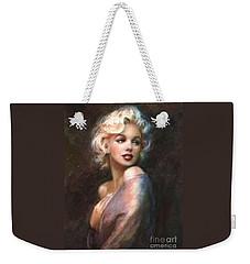 Marilyn Romantic Ww 1 Weekender Tote Bag by Theo Danella