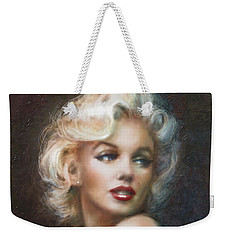 Marilyn Ww Soft Weekender Tote Bag by Theo Danella