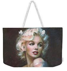 Marilyn Ww  Weekender Tote Bag by Theo Danella