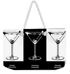 Martini Week Weekender Tote Bag by Jon Neidert