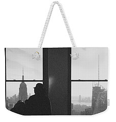 Me And Nyc Weekender Tote Bag by J Montrice