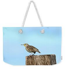 Meadowlark Roost Weekender Tote Bag by Mike Dawson