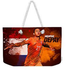 Memphis Depay Weekender Tote Bag by Semih Yurdabak