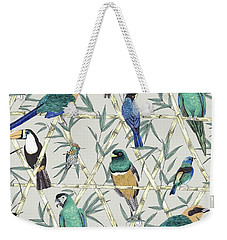 Menagerie Weekender Tote Bag by Jacqueline Colley