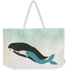 Mermaid Weekender Tote Bag by Carolina Parada