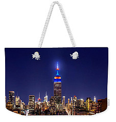 Mets Dominance Weekender Tote Bag by Az Jackson