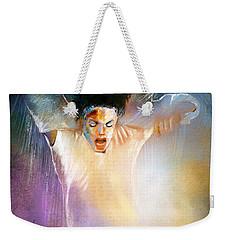 Michael Jackson 09 Weekender Tote Bag by Miki De Goodaboom