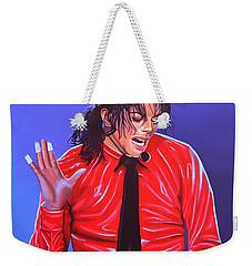Michael Jackson 2 Weekender Tote Bag by Paul Meijering