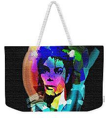 Michael Jackson Weekender Tote Bag by Mo T
