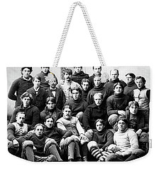 Michigan Wolverines Football Heritage  1895 Weekender Tote Bag by Daniel Hagerman