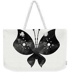 Midnight Butterfly 2- Art By Linda Woods Weekender Tote Bag by Linda Woods