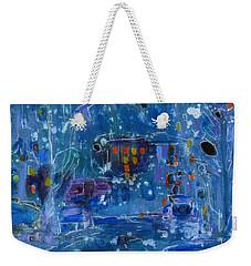 Midnight  Weekender Tote Bag by Tanya Filichkin