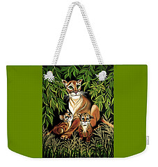 Momma's Pride And Joy Weekender Tote Bag by Adele Moscaritolo