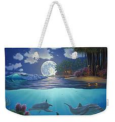 Moonlit Sanctuary Weekender Tote Bag by Al Hogue