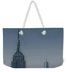 Morning In New York Weekender Tote Bag by Chris Fletcher