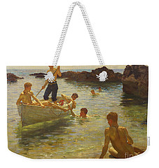 Morning Splendour Weekender Tote Bag by Henry Scott Tuke